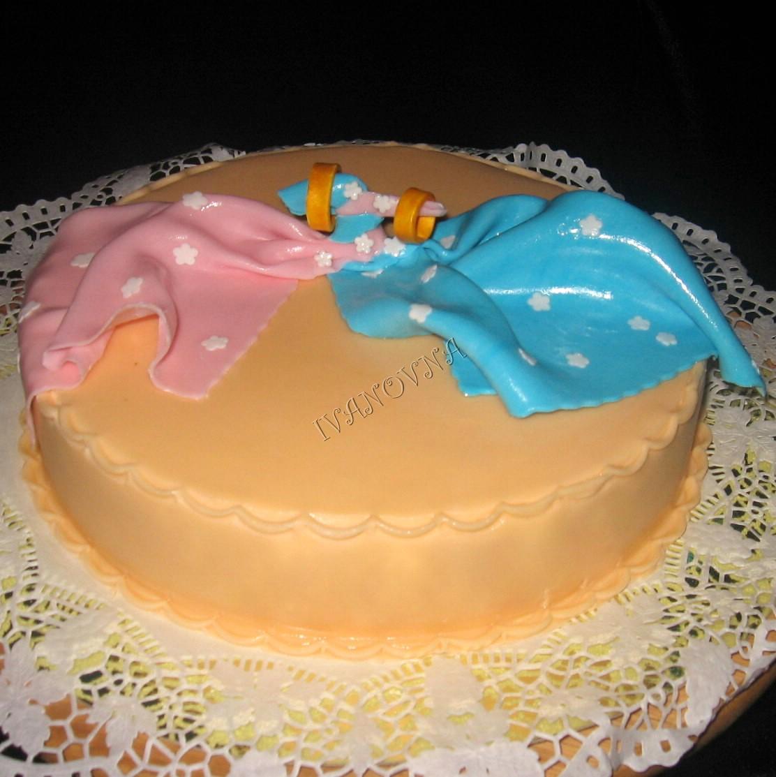 Фото тортов на годовщину свадьбы из мастики